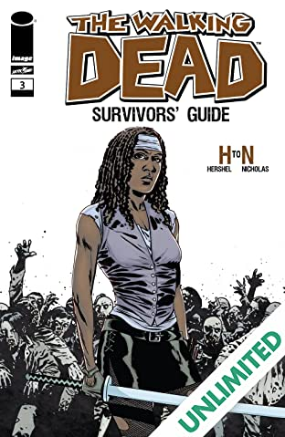 The Walking Dead Survivors' Guide #3 (of 4)